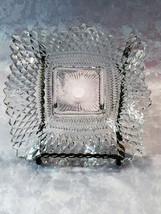 Depression Glass Federal Glass Diamond Point Ruffled Candy Dish, ca. 1947 - $12.61