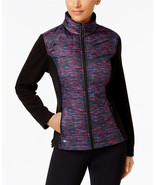 Ideology Women's Performance Quilted Colorblocked Noir Jacket - Size M - $17.81