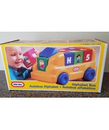 Little Tikes #0853 Alphabet Bus ABC Ride On Bus 7 Blocks Made in the USA... - $59.39