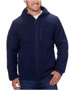 Reebok Men's Hybrid Softshell Jacket, NAVYl, L - $24.74