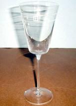 Kate Spade Lenox NOEL Goblet Etched Crystal Multi Purpose 10oz Germany New - $26.90