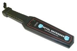 Handheld Metal Detector Security Wand For Business, Night Clubs, Airports - $57.33