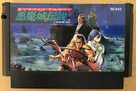 Akumajo Densetsu Castlevania 3 III Nintendo Famicom Japan Import - $52.47