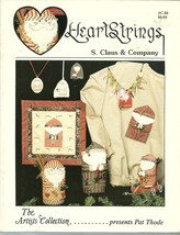 Heartstrings S. Claus and Company Christmas Santa Crafts Cross Stitch Bo... - $4.99