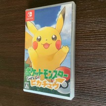 Nintendo switch Pokemon: Let's Go Pikachu! Free Shipping - $57.41