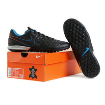 Nike Tiempo Legend 8 Academy TF Football Boots Soccer Cleats Black AT6100-090 - $97.99