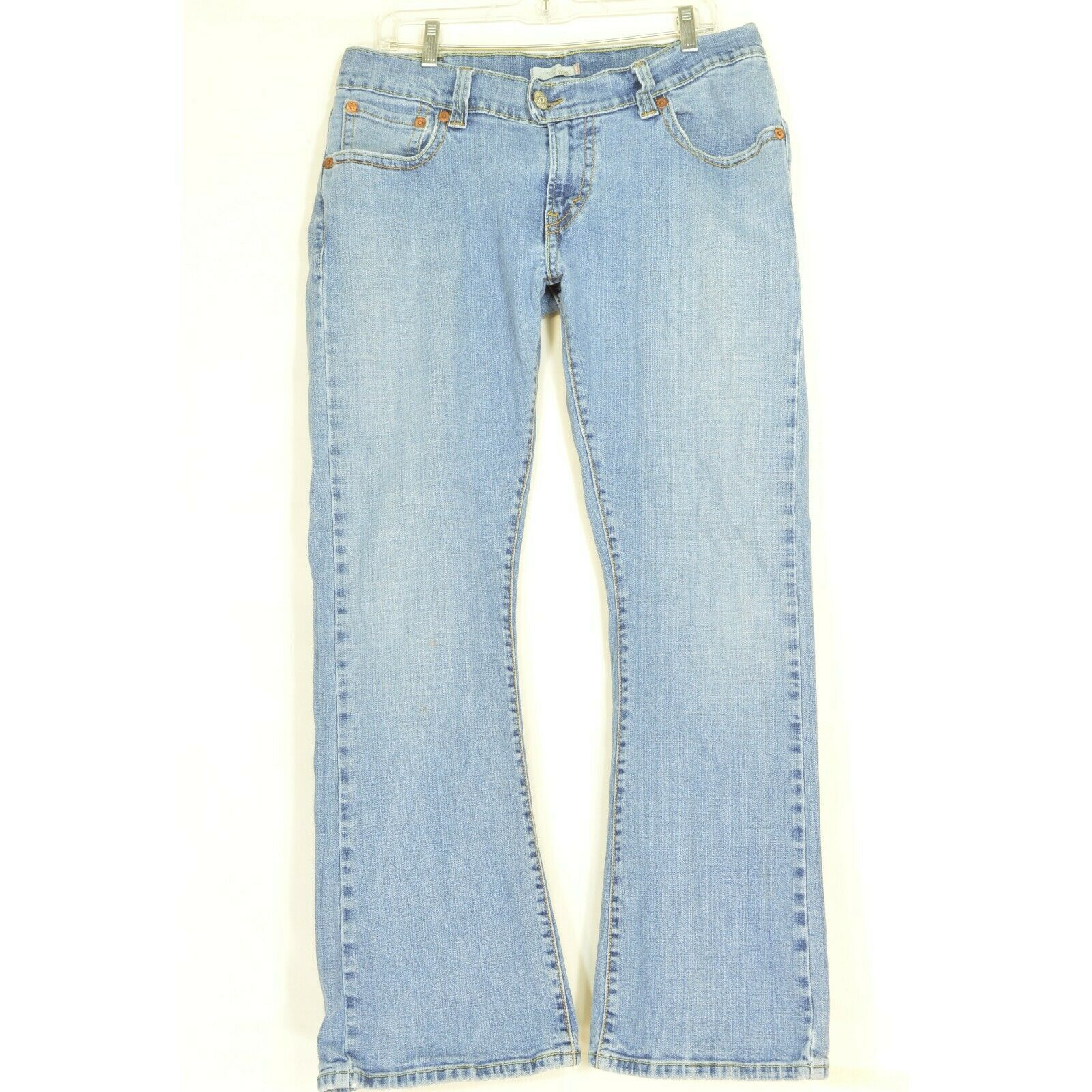 Primary image for Levi 542 jeans 16 x 31 low slouch flap back pockets flare twisted leg 504 style