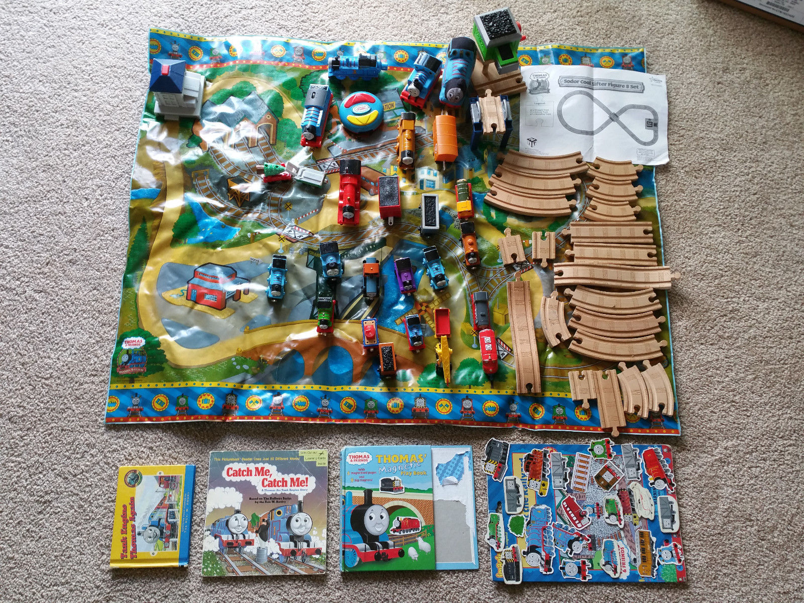 Thomas Friends Wooden Railway Sodor Coal And 26 Similar Items