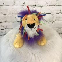 "Ganz Webkinz Lion Plush Rainbow Mane 10"" - $9.89"