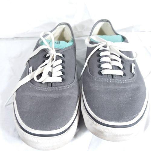 Vans Gray Classic Sneakers Shoes Men's Size 6 Women's Size 8 EUR 38.5 Lace Up image 5