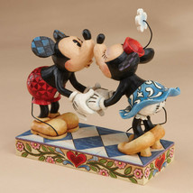 "6.25"" Smooch for My Sweetie Mickey & Minnie Mouse - Jim Shore Disney Traditions image 2"