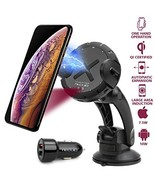 NEQUIO X Fast Wireless Charger - 2 in 1 - Charging Car Mount - Premium D... - $35.17