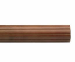"Kirsch Wood Trends Classics Fluted 1 3/8""  Drapery Pole, Walnut 6 FT (56006G085) - $40.57"