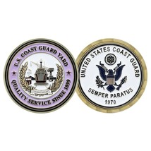 "UNITED STATES COAST GUARD BALTIMORE  YARD SEMPER PARATUS 1.75"" CHALLENGE... - $17.14"