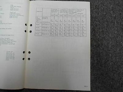 1979 80 1981 Saab 900 Bremsen Brille Aufhängung Räder Service Manuell 3 Band Set