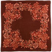 Rodier - Wool Floral Shawl 2154-1 Brown - $150.00
