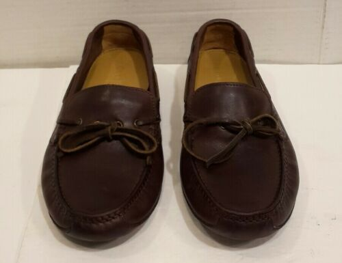Primary image for Cole Haan Driving Shoes Leather Brown Slip On Loafer Mocs Sz 7 M