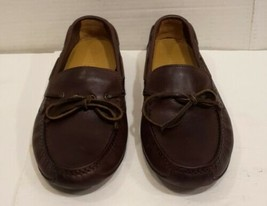 Cole Haan Driving Shoes Leather Brown Slip On Loafer Mocs Sz 7 M   - $33.65