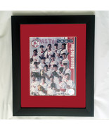 "Red Sox Team 2006 solid frame authenticity hologram 15""x14"" - $44.97"