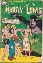 The Adventures of Dean Martin and Jerry Lewis Comic Book #19 DC 1955 VER... - $39.59