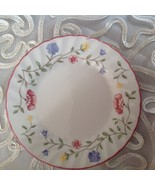 Johnson Brothers Summer Chintz Bread and Butter Plate  White Pink 6 1/4 in - $7.92