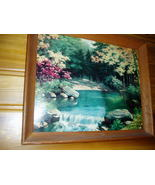 Vintage Creek Painting - $9.00