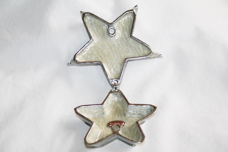 """Objet d'art Release #31 """"A New Start"""" Jeweled Star Trinket Box  #2047"""