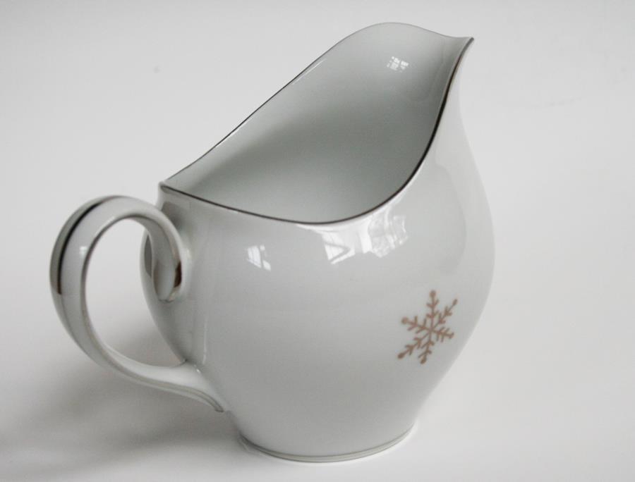 Harmony House 1956 Japan Snowflake Platinum Trim Creamer  #1953