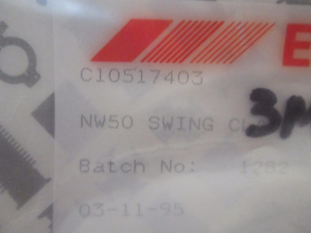 Edwards C10517403 NW50 Aluminum Swing Clamp - Lot of 7