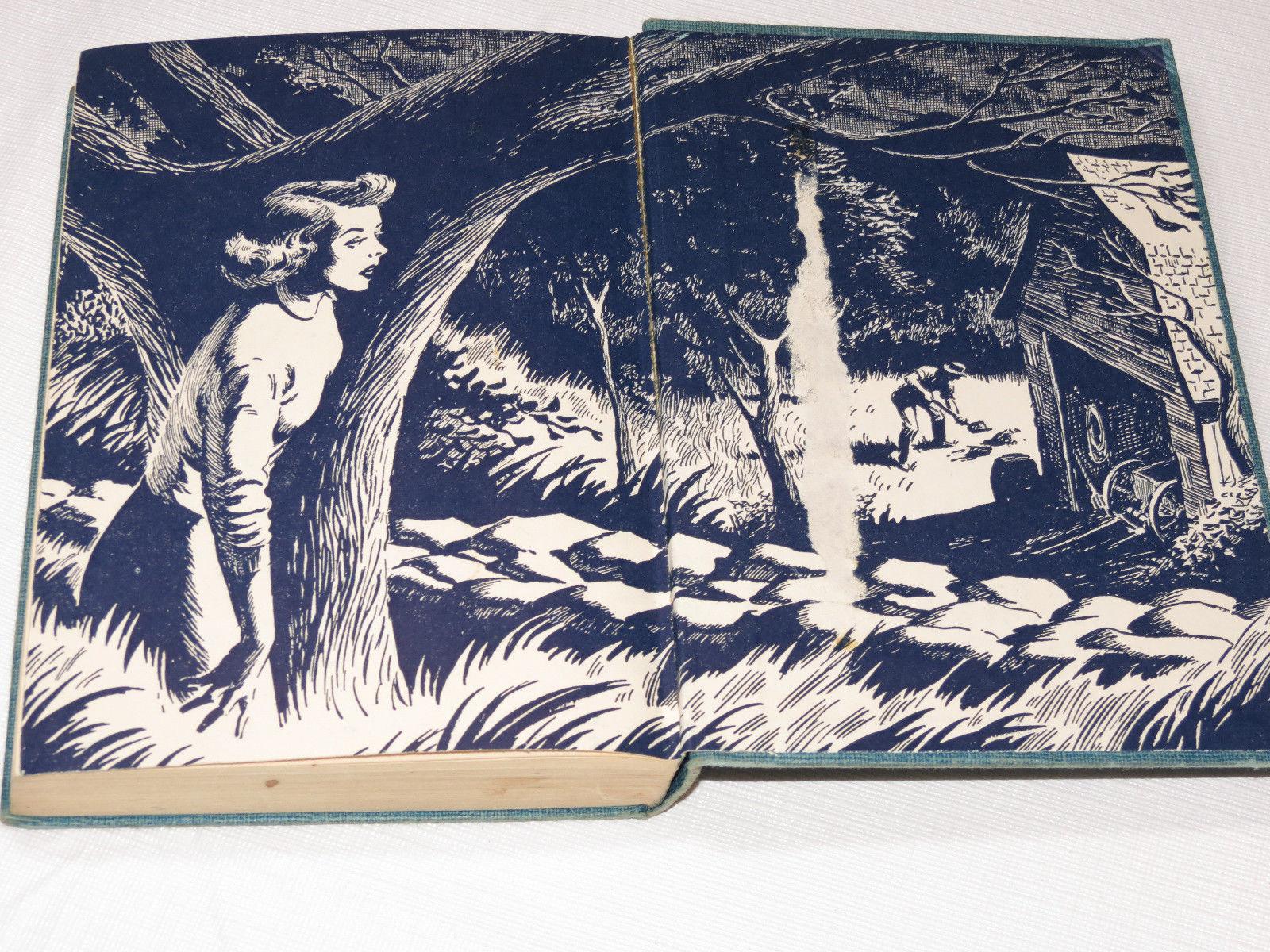 Nancy Drew Mystery The Clue of the Velvet Mask Carolyn Keene 1953 hardback #%