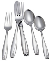 Waterford Lisette 40 Piece Stainless Flatware Service for 8 Polished Finish New - $229.90