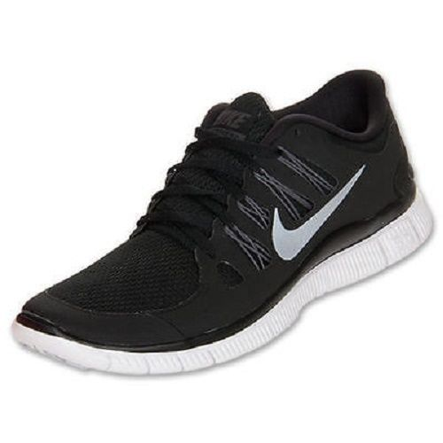 Primary image for NIKE FREE 5.0+ WOMEN'S BLACK/WHITE RUNNING SHOES #580591-002