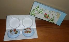 Vintage Avon Winter Wonderland 2 Perfumed Soaps In Original Box & Styrofoam - $22.00