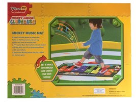 Disney Mickey Mouse Clubhouse Music Mat Electronic Piano