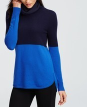 Ann Taylor colorblock cowl-neck cashmere sweater, size XL, NWT - €108,62 EUR