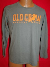 OLD CROW MEDICINE SHOW Gray Long Sleeve Concert Tour T-SHIRT M Wagon Wheel - $14.84