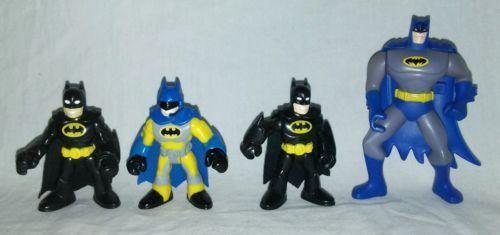 Imaginext Super Friends Batman Gotham City Jail Playset & Action Figures Lot