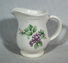 Pfaltzgraff Grapevine Pattern Creamer Stoneware Pristine Condition! - $6.65