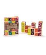 Periodic Table Building Blocks Toys Kids Chemistry Education Wood Set El... - $59.02