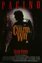 "Carlito's Way - Al Pacino / Sean Penn - Movie Poster Framed Picture 11""x14"" - $32.50"