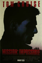 """Mission Impossible - Tom Cruise - Movie Poster Framed Picture 11""""x14"""" - $32.50"""