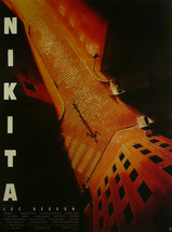 "Nikita - Jeanne Moreau / Jean Reno - Movie Poster Framed Picture 11""x14"" - $32.50"