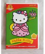 Hello Kitty Becomes a Princess (DVD, 2003)  - $6.89