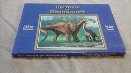 1 - U.S. POSTAL SERVICE 18 CARDS+ENVELOPES WORLD OF DINOSAURS 2 ea.HAR 9... - $6.99