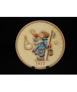 """Hear Ye Hear Ye"" ~ MJ Hummel 1972 Collector Plate ~ Goebel 2nd Annual #... - $19.55"