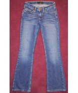 WOMENS LEVI'S 524 TOO SUPERLOW STRETCH MEDIUM WASH 5 POCKET FLARE JEANS ... - $13.85