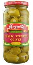Mezzetta Stuffed Olives Garlic -- 10 oz - 2 pc - $28.66