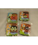 Perler Beads Halloween Craft Lot of 4 Spider Witch Bat Pumpkin Vampire #1 - $12.55