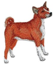 "Amazing Custom Dog Portraits [Basenji] Embroidery IronOn/Sew patch [4.5""... - €8,51 EUR"