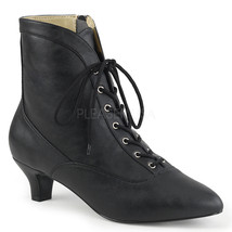 PLEASER Sexy Womens Single Sole Front Lace Up A... - $68.95